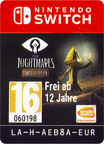 Little Nightmares: Complete Edition Switch cover (AEB8A)