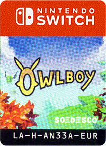 Owlboy Switch cover (AN33A)