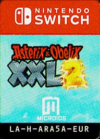 Asterix & Obelix XXL 2 Switch cover (ARA5A)