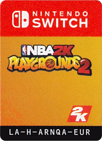 NBA 2K Playgrounds 2 Switch cover (ARNQA)