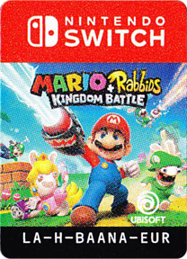 Mario + Rabbids: Kingdom Battle Switch cover (BAANA)