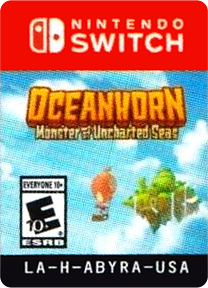 Oceanhorn - Monster of Uncharted Seas Switch cover (ABYRA)