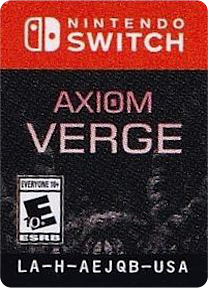 Axiom Verge Switch cover (AEJQB)