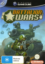 Battalion Wars GameCube cover (G8WP01)