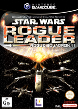 Star Wars Rogue Squadron II: Rogue Leader GameCube cover (GSWP64)
