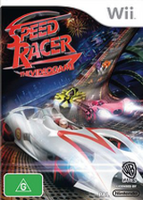 Speed Racer: The Videogame Wii cover (R3PPWR)