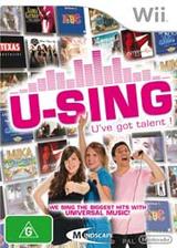 U-Sing Wii cover (R58PMR)