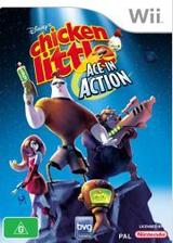 Chicken Little: Ace In Action Wii cover (RCLP4Q)