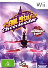 All Star Cheerleader Wii cover (RCXX78)