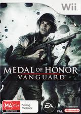Medal of Honor: Vanguard Wii cover (RMVP69)