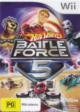 Hot Wheels: Battle Force 5 Wii cover (RO5P52)