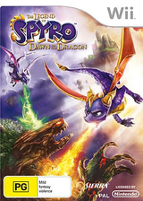The Legend of Spyro: Dawn of the Dragon Wii cover (RO8P7D)
