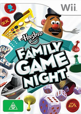 Hasbro: Family Game Night Wii cover (RRMX69)