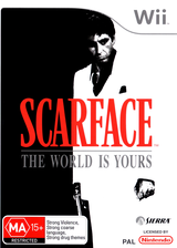 Scarface: The World Is Yours Wii cover (RSCU7D)