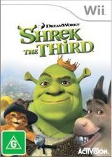 Shrek The Third Wii cover (RSKX52)