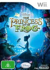 Disney: The Princess and the Frog Wii cover (RU5P4Q)