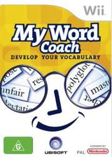 My Word Coach: Develop your vocabulary Wii cover (RW4D41)