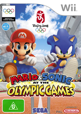 Mario & Sonic at the Olympic Games Wii cover (RWSP8P)