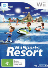 Wii Sports Resort Wii cover (RZTP01)
