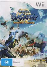 Sengoku Basara: Samurai Heroes Wii cover (SB3P08)