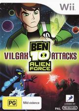 Ben 10: Alien Force Vilgax Attacks Wii cover (SBNPG9)