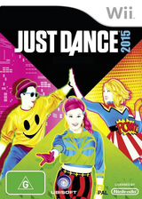 Just Dance 2015 Wii cover (SE3P41)