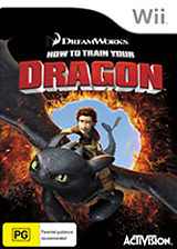 How to Train Your Dragon Wii cover (SHDP52)