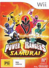 Power Rangers Samurai Wii cover (SM5PAF)