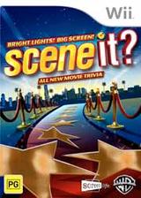 Scene It? Bright Lights! Big Screen! Wii cover (SSCIWR)