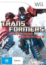 Transformers: Cybertron Adventures Wii cover (ST5P52)