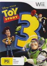 Toy Story 3 Wii cover (STSP4Q)
