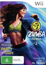 Zumba Fitness 2 Wii cover (SZ2P5G)