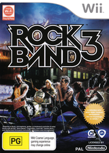 Rock Band 3 Wii cover (SZBP69)