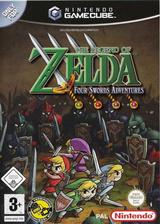 The Legend of Zelda: Four Swords Adventures GameCube cover (G4SP01)