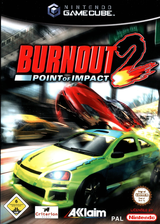 Burnout 2: Point of Impact GameCube cover (GB4P51)