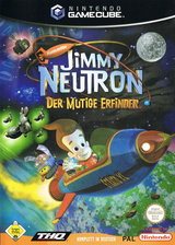 Jimmy Neutron: Der mutige Erfinder GameCube cover (GJND78)