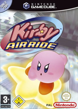 Kirby Air Ride GameCube cover (GKYP01)