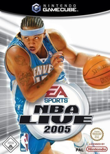 NBA Live 2005 GameCube cover (GLYP69)