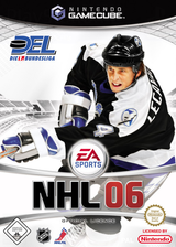 NHL 06 GameCube cover (GN6P69)