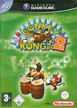 Donkey Konga 2 GameCube cover (GY2P01)