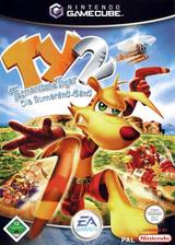 Ty der Tasmanische Tiger 2:Die Bumerang-Gang GameCube cover (GYTP69)