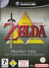 The Legend of Zelda: Collector's Edition GameCube cover (PZLP01)