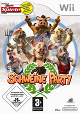 Schweine Party Wii cover (R4LPUG)
