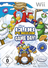 Club Penguin: Game Day! Wii cover (R59D4Q)