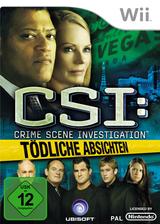 CSI: Tödliche Absichten Wii cover (R5UP41)