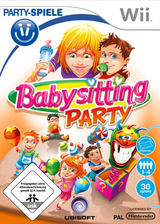 Babysitting Party Wii cover (R8BP41)