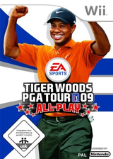 Tiger Woods PGA Tour 09 All-Play Wii cover (R9TP69)
