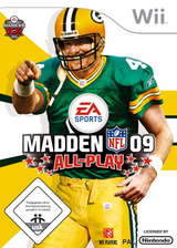 Madden NFL 09 All-Play Wii cover (RFLP69)