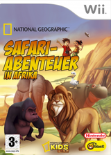 Safari-Abenteuer in Afrika Wii cover (RFWPNK)