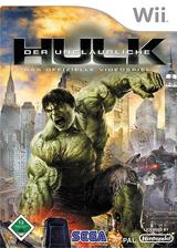 Der unglaubliche Hulk Wii cover (RIHP8P)